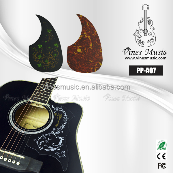 Art Colorful Acoustic Guitar Pickguard/Guitar Scratch Guard Plate