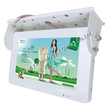 High quality 22 inch full hd wifi/3g lcd bus video advertising player