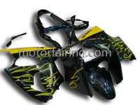 For Kawasaki Ninja ZX-6R 00-02 fairing/Motorcycle bodykit/body part/body fairing yellow/black