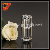 Square Acrylic Cosmetic Pump Bottle