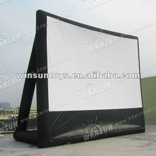 2012 hot selling advertising Movie Screen