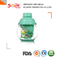 225ml BPA free Good Promotion Product baby use plastic cup drinking sippy cups best baby bottles with handle