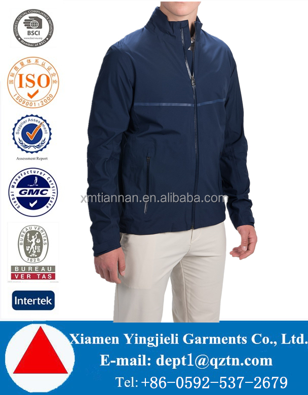 new product wholesale clothing apparel & fashion jackets men for winter insulated polyester golf jacket waterproof