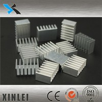 Aluminum Heat Sink manufacturers Services,supply extruded aluminum heatsink 14X6MM