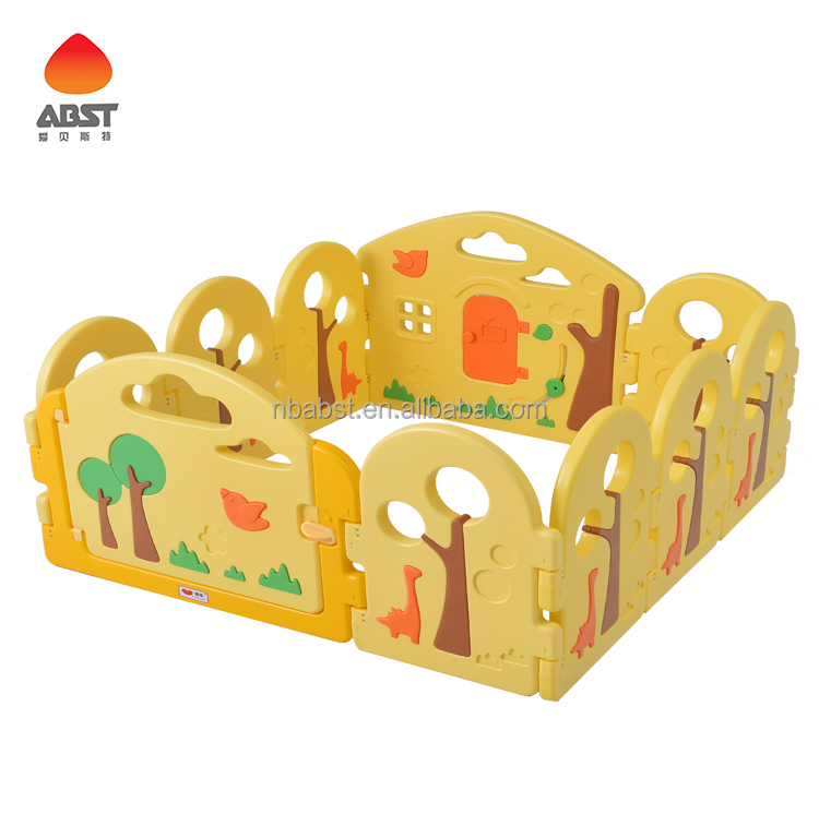 baby play fence 8+2 plastic playpen for kids room