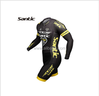 Santic RTS Racing Team One Piece Cycling Jersey/Cycling Skinsuit Long Sleeve Short Pants Bike Jersey Triathlon