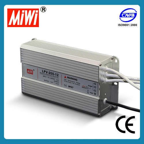 LPV-200 ce switch mode power supply,LED driver switch mode power supply,switch mode power supply with metal case