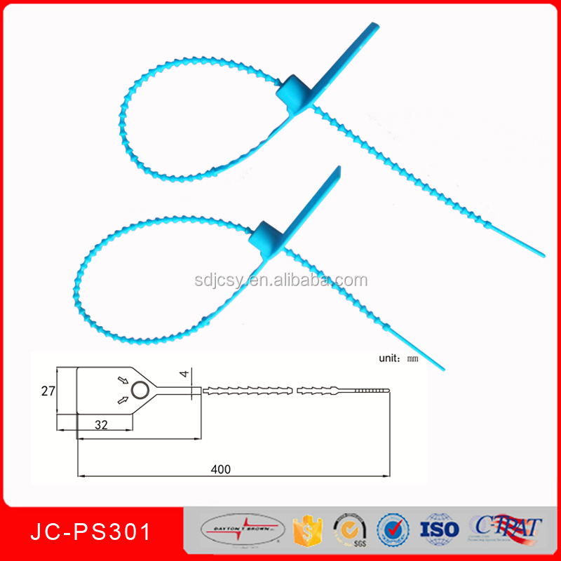 Plastic Container Seals with Metal Locking JCPS301