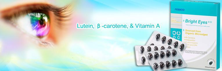 Nutritional Supplements Lutein Eye Supplements Distributor
