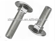 Stainless Steel 316 Flat Head Carriage Bolt