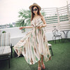 Summer Sexy Hot Selling Fashion Women Dress Maxi Dress Chevron dress