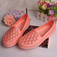 Plastic shoes flat ladies fashion sandals for women fancy sandals