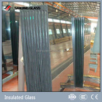 double glazing french window glass factory in china