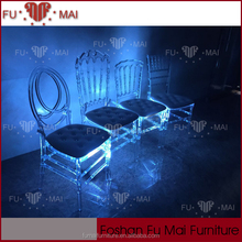 rgb colour modern led light stacking wholesale glow banquet chair ,glowing led chair