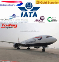 Air shipping service from China to Costa Rica