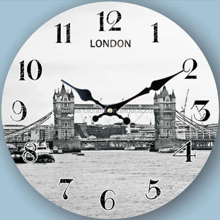 London bridge creative wall clock