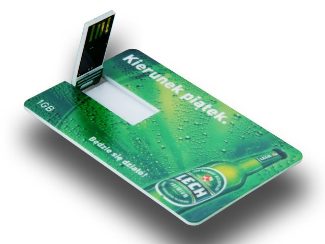 OEM Business Credit Card USB Flash drive with Customized Logo 8GB 16GB
