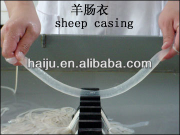 natrual salted sheep casing