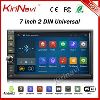 "Kirinavi WC-2U7401 7"" android 5.1 double 2 Din universal car radio gps navigation multimedia system no dvd 178mmx100mm"