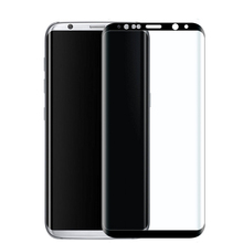 Free shipping 9H Hardness 3D curved full cover Glass Screen Protector for samsung Galaxy s8