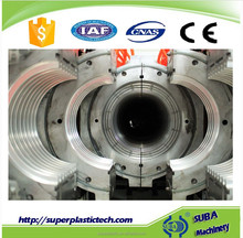 HDPE double wall corrugated drainage pipe production line manufacturers