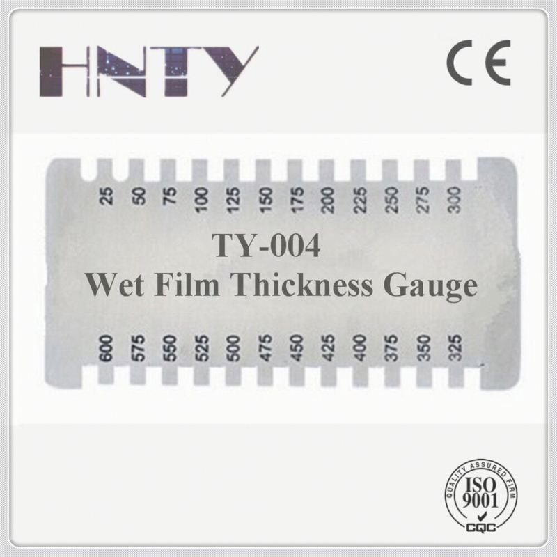 Adaptable Rectangular Wet Film painting Thickness testing meter