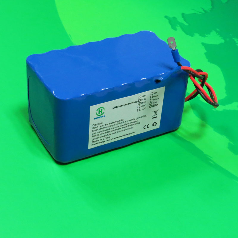 18650 Li ion battery pack 4S7P 14.8V 18.2Ah for power tool