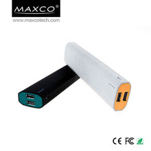 MAXCO10400mah New design18650 battery power bank charger for macbook pro /ipad mini
