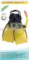 Children Diving set 3 in 1(Mask,snorkel,fin set)M4208+SN23+F52