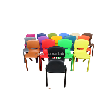 Quality-Assured cheap durable kids color plastic chair
