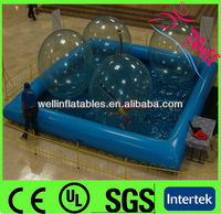 Inflatable indoor swimming pools for sale / water toys pool