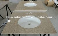 G682 Rusty cheap granite vanity top with vessel sink