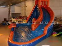 Commercial Grade Plastic Slides Banzai Inflatable