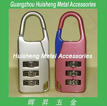 safety digital combination lock of bag accessories