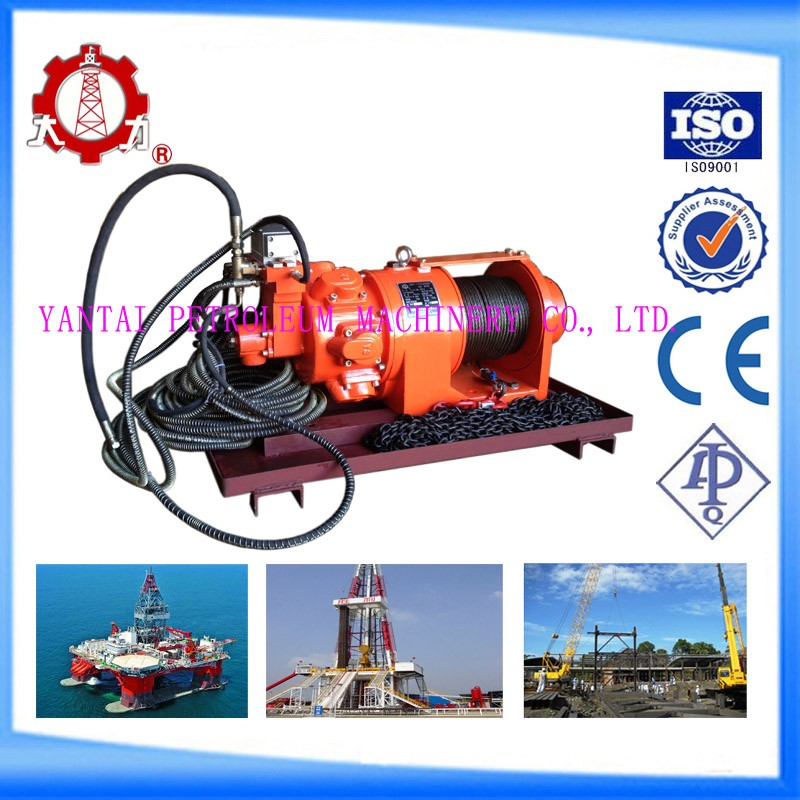 For monkey board 1 ton remote control air winch