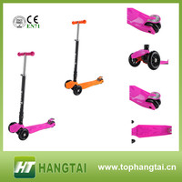 three wheel mini kick scooter for kids children kick scooter