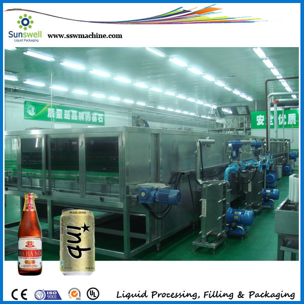 Bottle cooling machine/ Tunnel pasteurizer/Shower and cooler