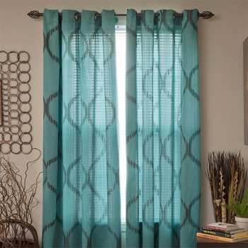 108 inch curtains 100%cotton curtain 100%cotton for curtain