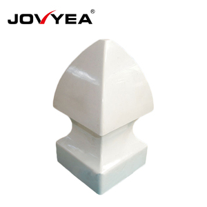 Free Maintenance Uv Protection Round Fence Post Caps
