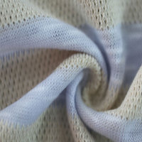 Coarse Knitting Mesh Polyester Fabric Organic Cotton Textile Fabric