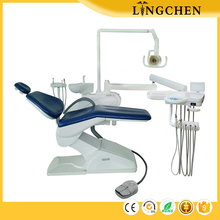 Hot sale Different colors artificial leather dentist dental chair for hospital