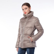 Top Quality New Design Winter Fancy Leather Jacket For Women