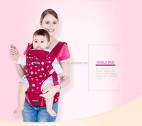 2015 cotton ergonomic multifunction baby sling carrier