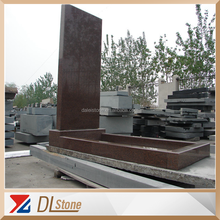 China Red Granite Monument Russia Style