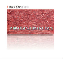 Resin sheet Colorful Waterproof Artificial stone