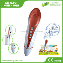 high quality educational machine translator pen wizard speaking pen to learn English Russian French Turkish