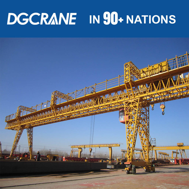 Heavy Load 100 20T Lifting Gantry Crane Price-Hy Design Calculations With Double Hook