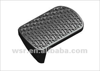 Car rubber pad pedal made in China