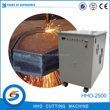 2016 Energy-saving hho carbon steel cutting machine