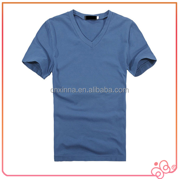 Fashion china 2016 wholesale men t shirt v neck buy t for Purchase t shirts in bulk
